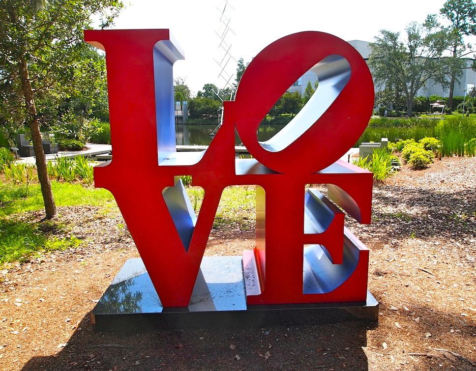 N 39 Awlins Love New Orleans La Love Sculpture By Robert Flickr
