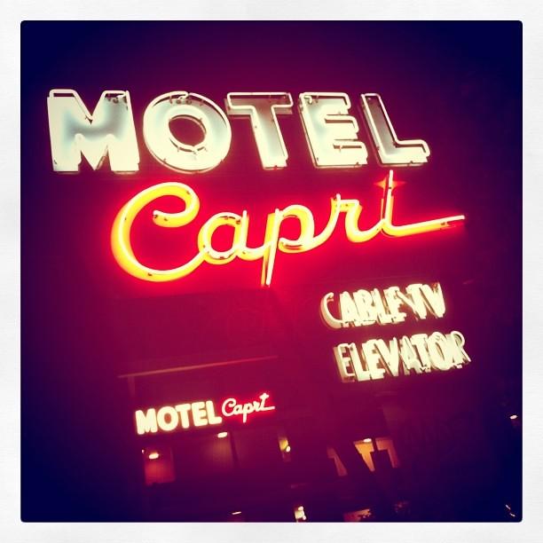 The Motel Capri Was A Nice