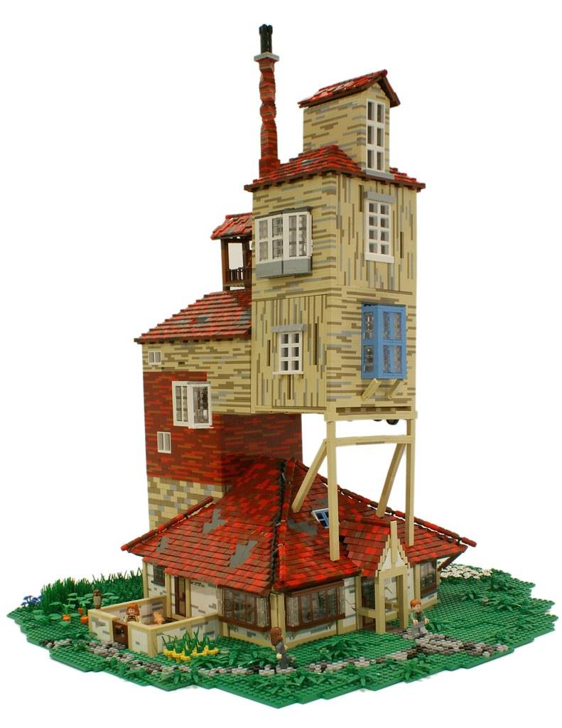 lego harry potter castle instructions