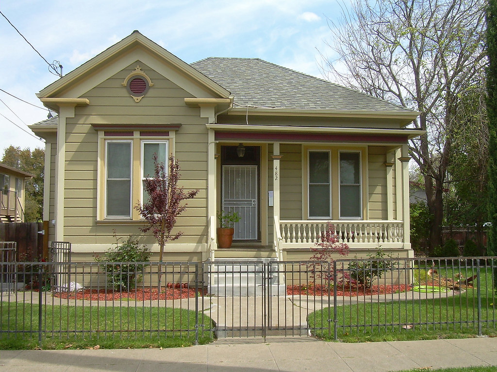 Victorian house san jose california david sawyer - Exterior painting estimate calculator ideas ...
