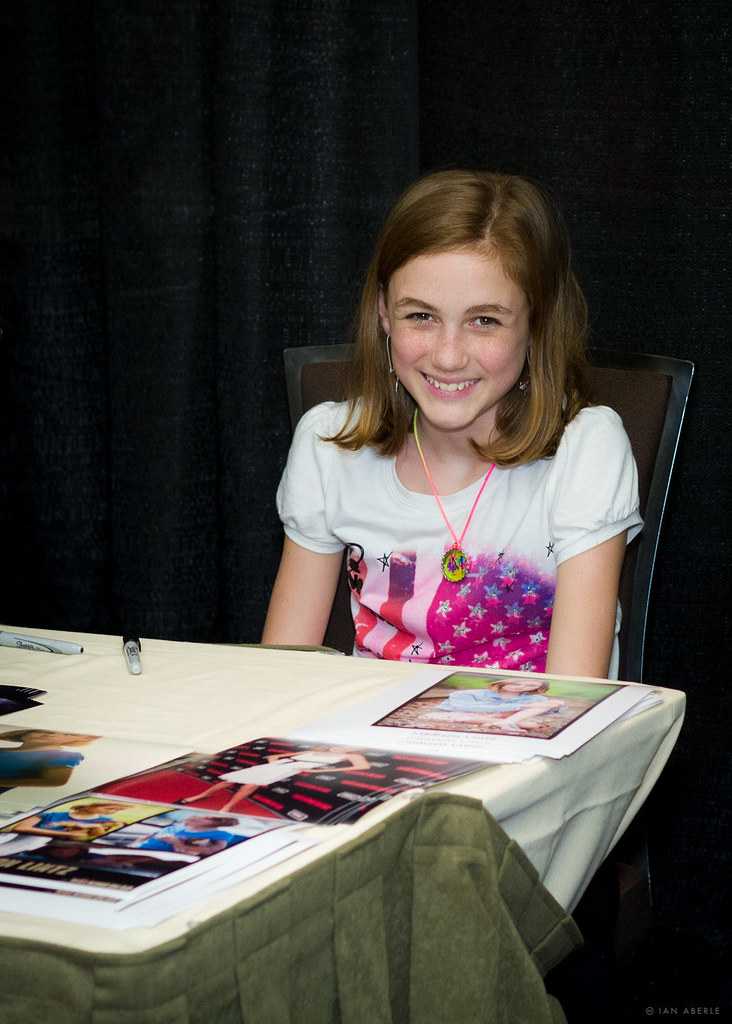 The Lovely Madison Lintz From The Walking Dead Flickr
