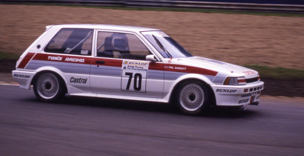 70 Phil Dowsett Toyota Corolla Fx Gt Ae82 Btcc 1988 Br