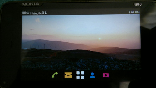 I have Meego 1.2 community release dual booting on my Nokia N900. 1st thing I did was take photos. #Meego | by Ms. Jen