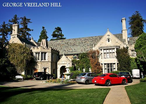 Playboy Mansion Backyard : Hugh Hefners Playboy Mansion  The famous Playboy Mansion i
