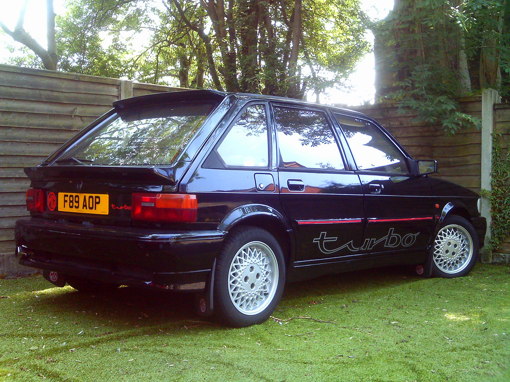 Mg Maestro Turbo Me And My Family Are Car Sitting For