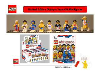 LEGO Olympic Minifigs 8909 | by THE BRICK TIME Team