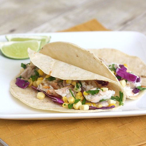 Fish Tacos with Chipotle Cream | by Tracey's Culinary Adventures