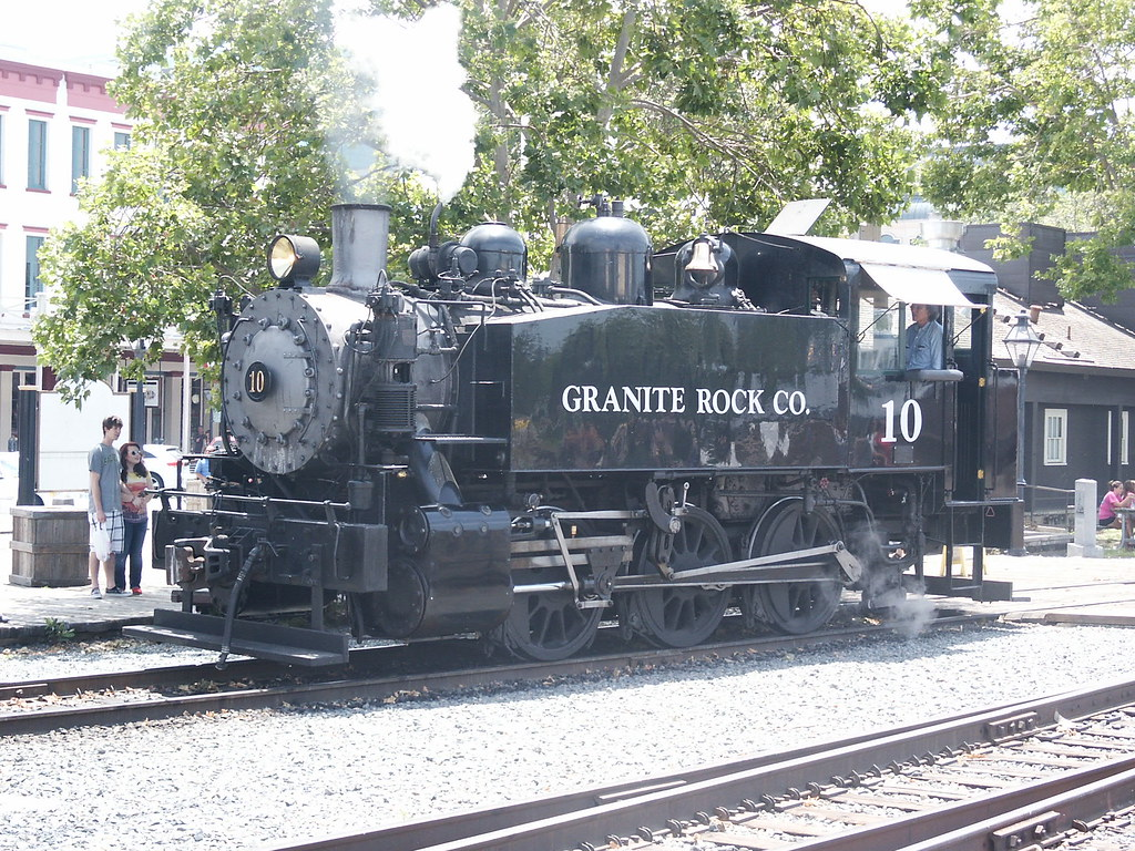 Granite Rock Co 10 Manages The Sacramento Southern Excur Flickr