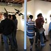 Opening night of Scott Radke's 'Burlap' and Jen Lobo's 'Inherit The Wound' at Thinkspace