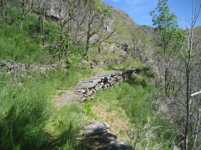 Calzada romana en la Ruta Castelo da Cerveira