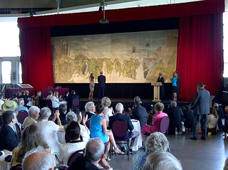 The Royal Couple unveils the mural of Augustus John / Le couple royal dévoile la murale Augustus John | by Canadian Heritage - Patrimoine canadien