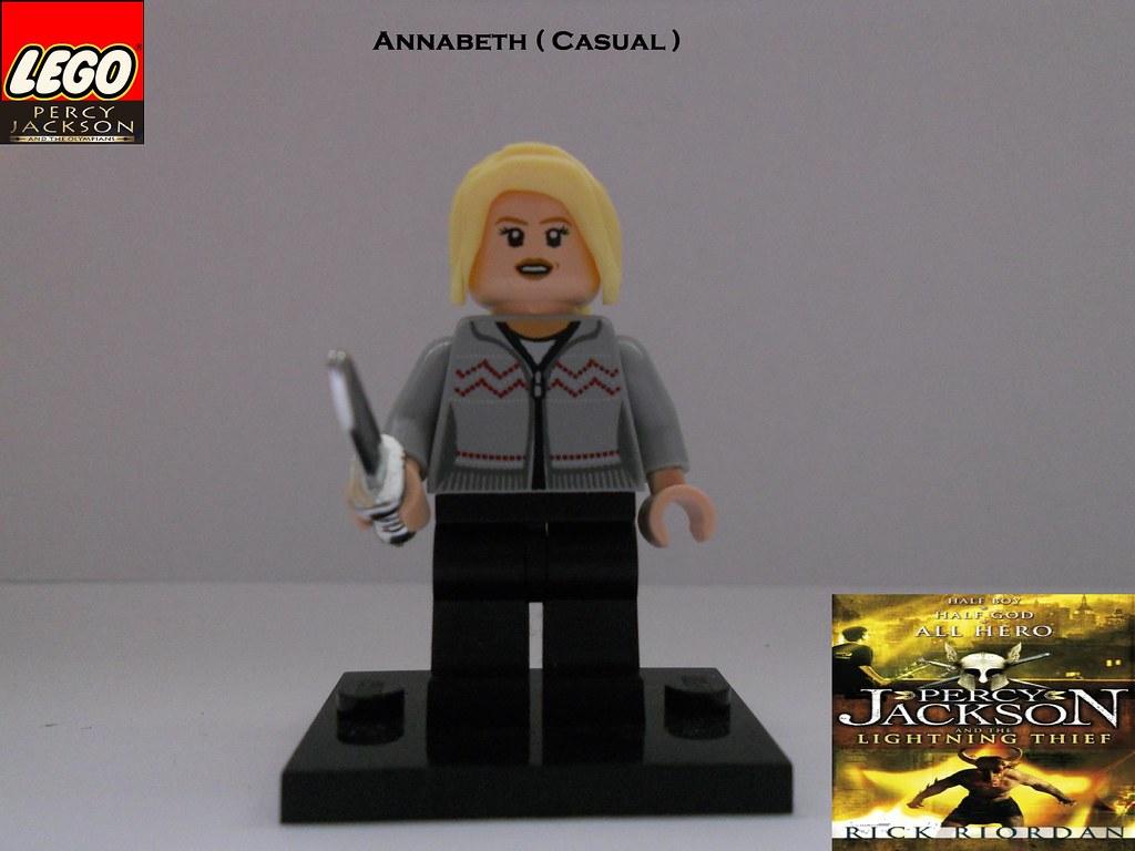lego annabeth chase casual by bc lego annabeth chase