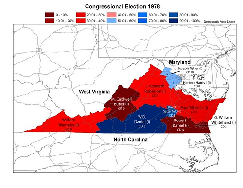 Virginia 1978 Congressional Election | by urbanoasis