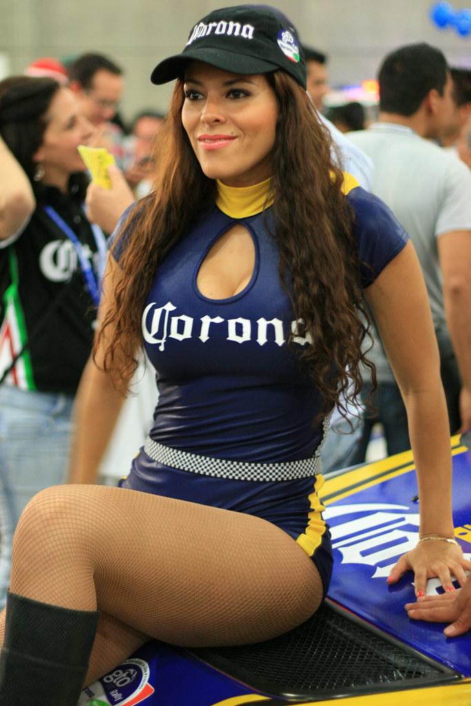 WRC Mexico - Corona Girls   GG Catcher   Flickr