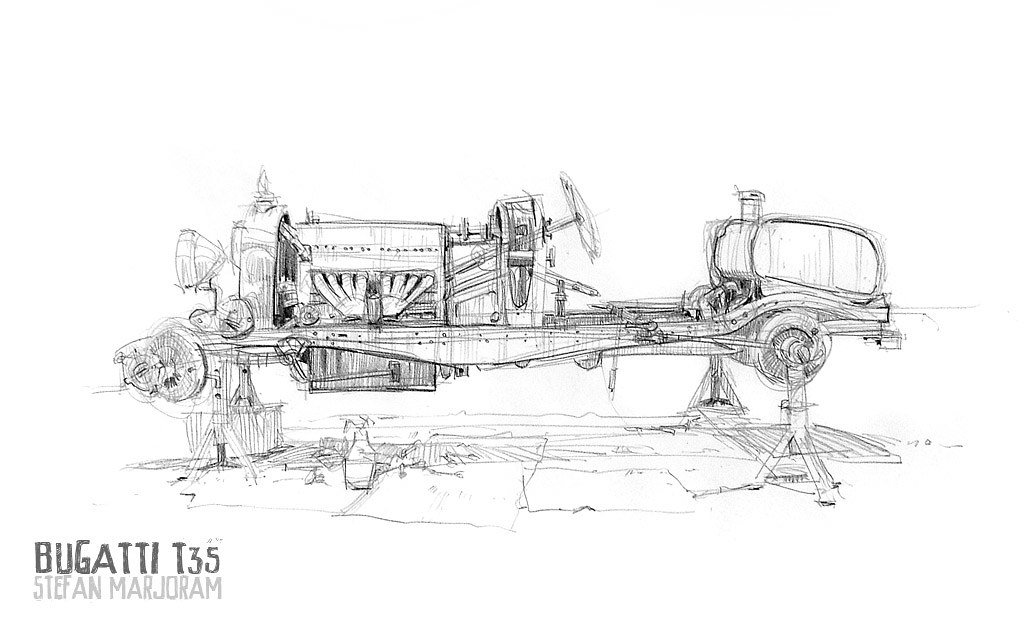 Cheap Car Finder >> Bugatti T35 no body 1s | Got an invitation to see a