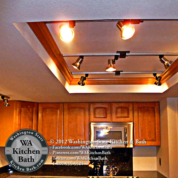 800 935 5524 Updated Light Box In Kitchen Remodel Bothel