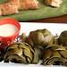 braised artichokes 9
