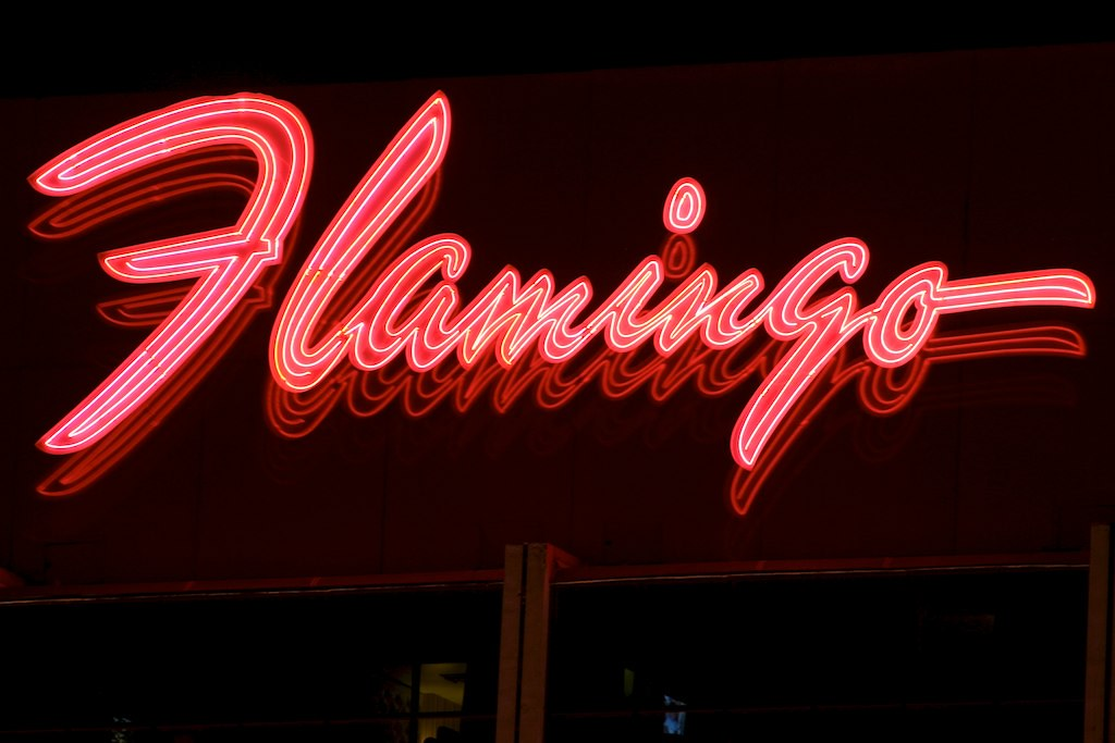 Flamingo Hotel Neon Sign 8529 Flamingo Hotel Neon Sign