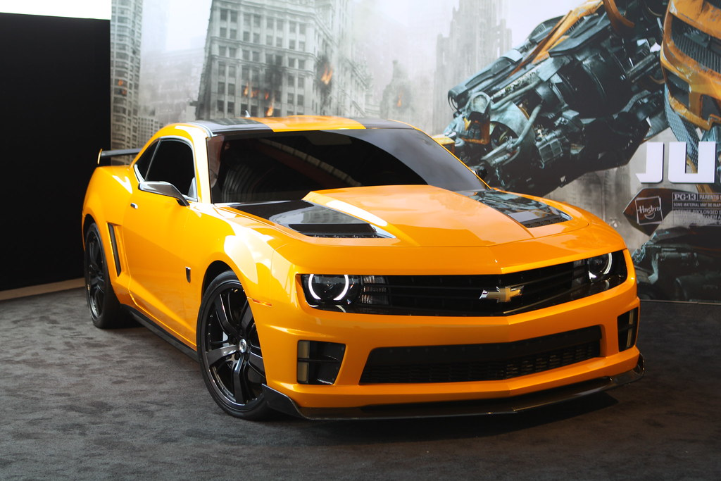 2012 Bumblebee Camaro SS | Bumblebee is the name of several … | Flickr