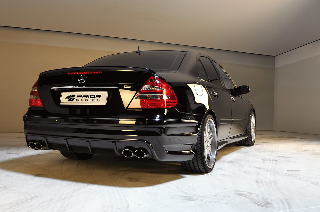 Mercedes E Class W211 Full Body Kit Rear Bumper E55 E63