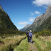 Milford Track valley