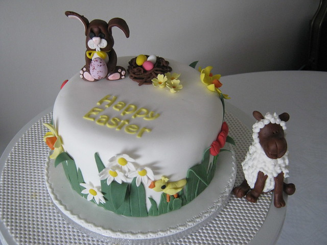 Cake Decorating Course Worcester : Easter cake Flickr - Photo Sharing!