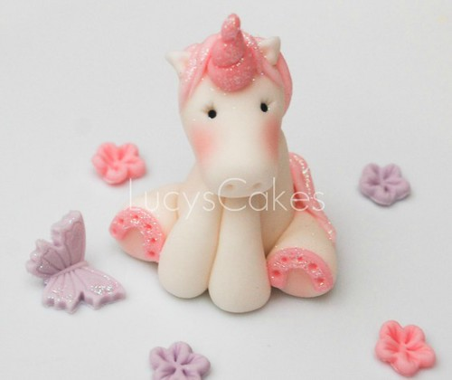 unicorn pony horse cake topper | Visit my website link below ...
