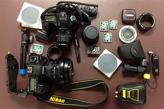 Camera Gear (from a recent shoot) | by HamWithCam
