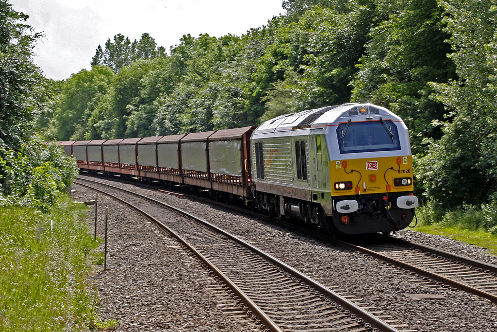 Jubilee Jags 6m28 Delivering Empty Car Carriers To The