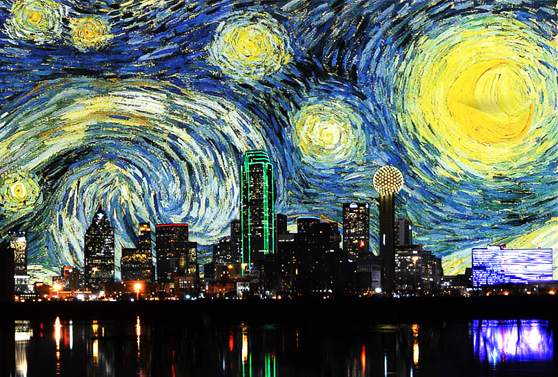 Famous Paintings Of The City