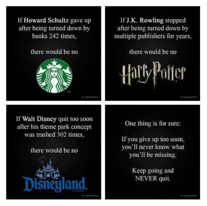 Image result for jk rowling was turned down many times