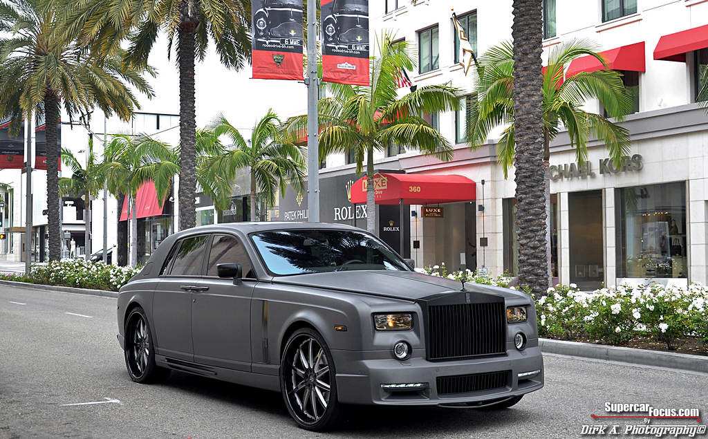 New Rolls Royce Phantom >> The World's Only Matte Grey Mansory Conquistador Based On …   Flickr
