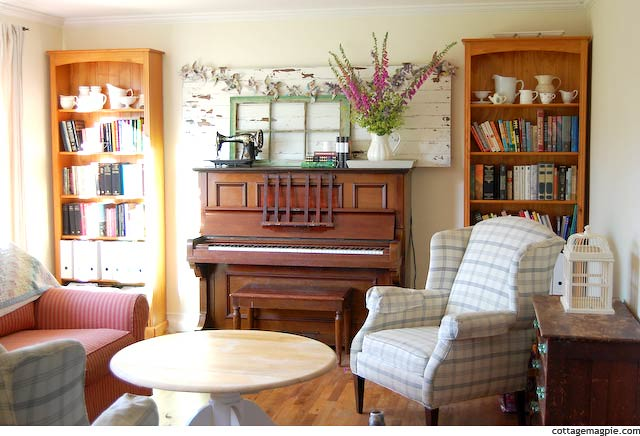 Living room with new piano decor sun shining into my - Decorate my living room online free ...