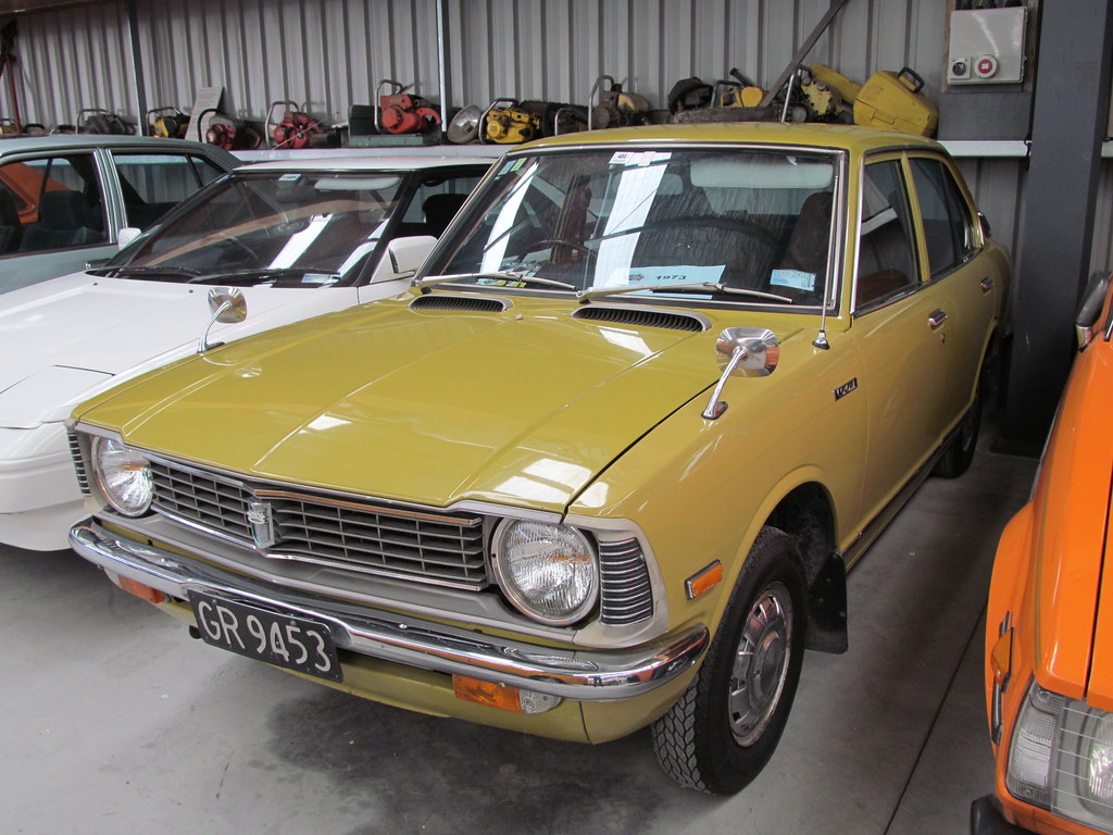 1973 Toyota Corolla Ke20 The Ke20 Corolla Was The Car