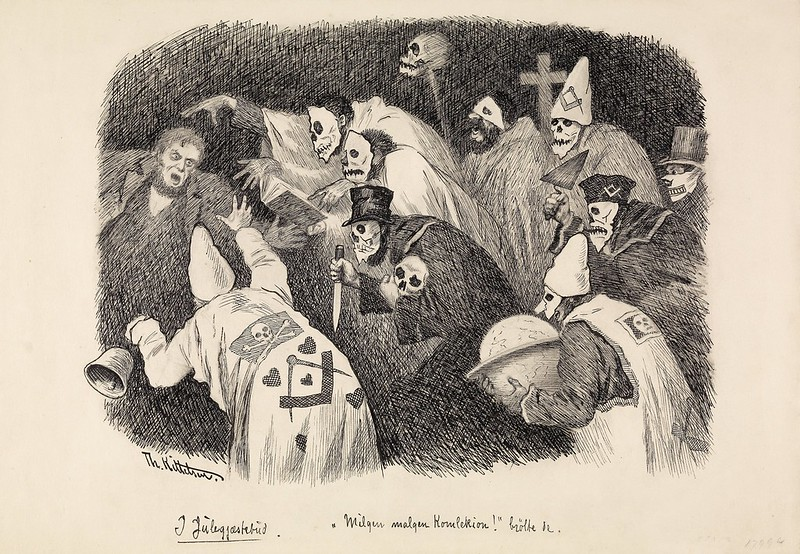 "Theodor Kittelsen - ""Milgen, malgen Komlekion"", 1891"