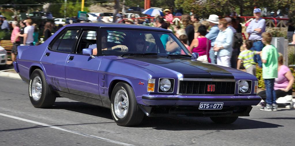 Holden Hx Monaro Gts Sedan At Mclaren Vale Vintage
