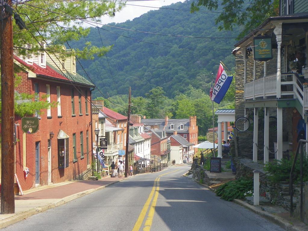 Harper S Ferry Jefferson County West Virginia High