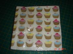 Guardanapo com Cupcakes  by GatinhoAmarelinho by marliroman