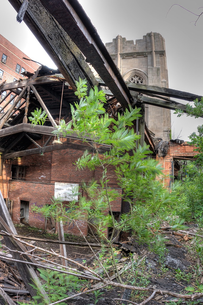 Nature Taking Over The Church Gymnasium Abandoned City Me