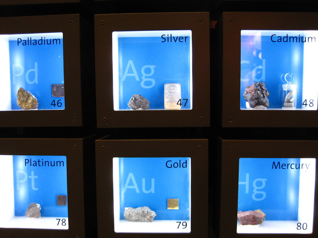 Los Angeles Griffith Observatory Periodic Table In 3d Flickr