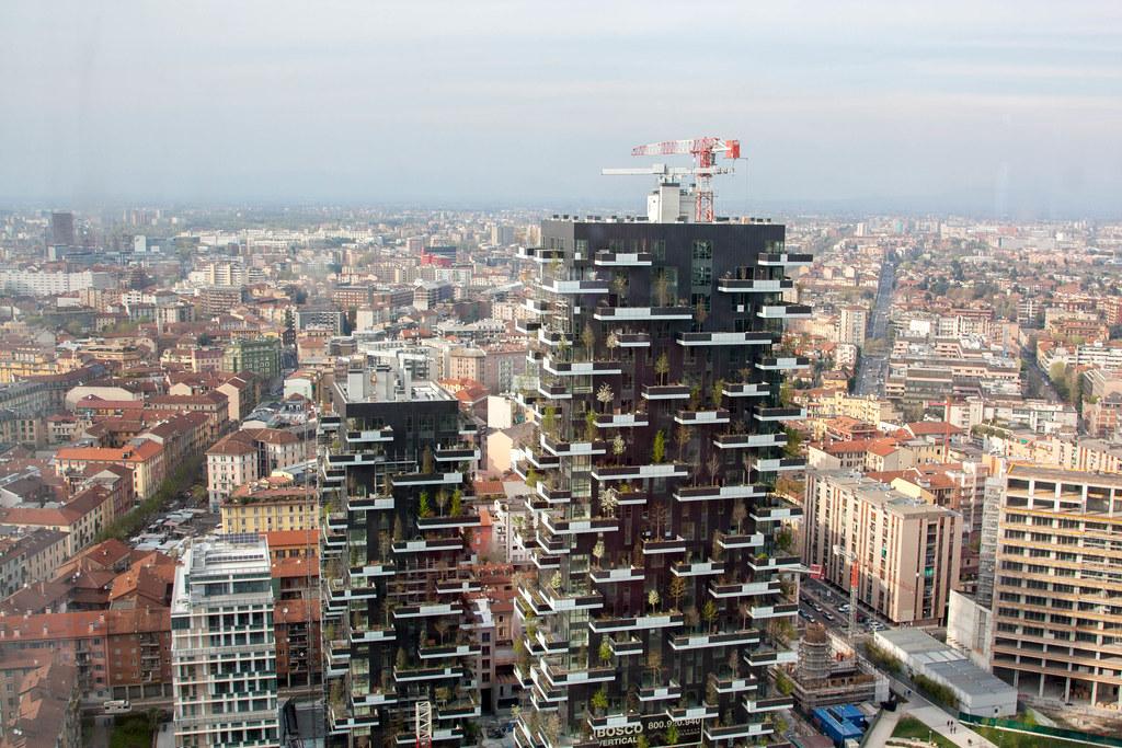 Bosco verticale andrea passoni flickr - Bosco verticale ...