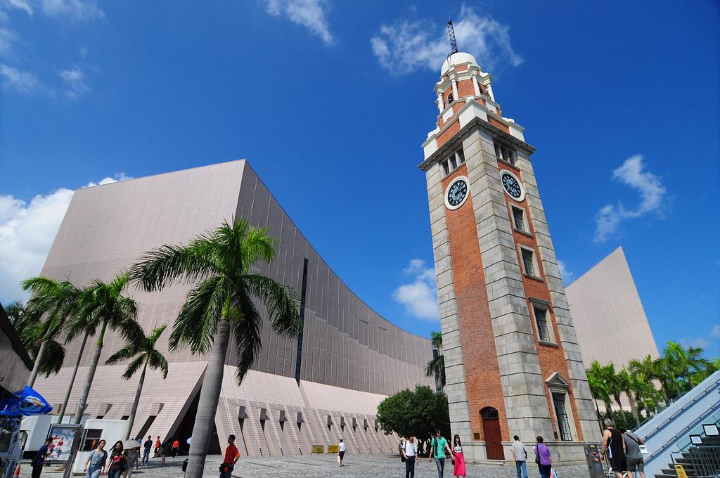 尖沙咀鐘樓和文化中心 Jason Lui Flickr