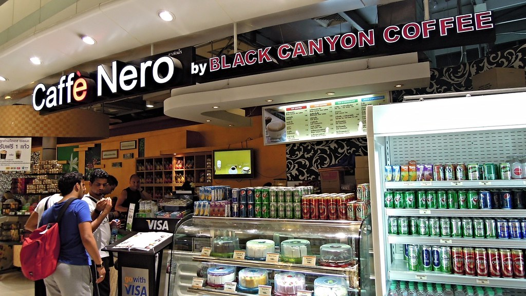 Black Canyon Coffee Central World