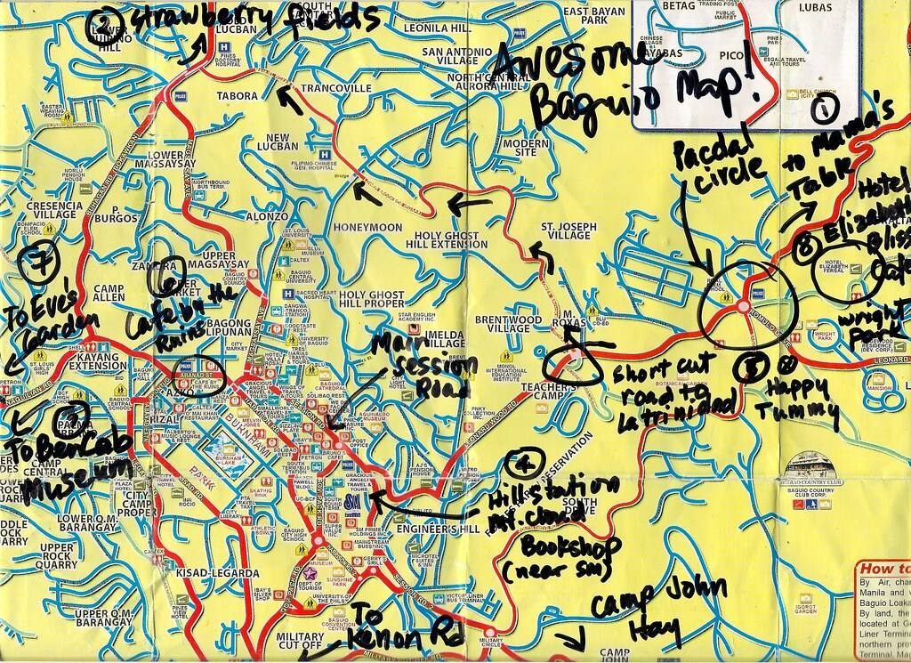 All Sizes Awesome Baguio Map Flickr Photo Sharing - Baguio map