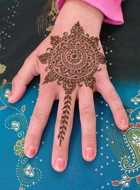 Mandala Henna Design  Inspired By The