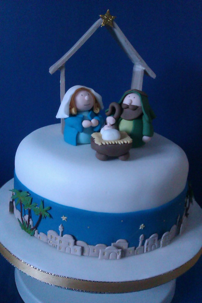 Nativity Cake Ideas