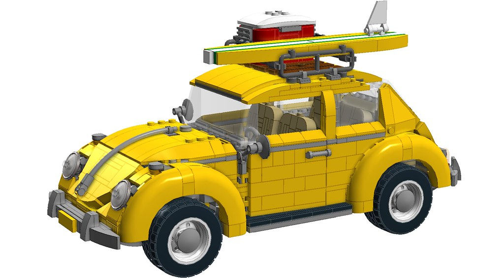 review 10252 volkswagen beetle page 3 special lego. Black Bedroom Furniture Sets. Home Design Ideas