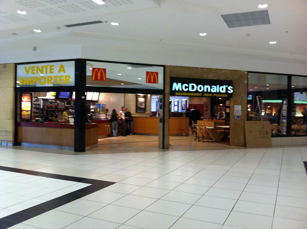 mcdonald 39 s cite europe near calais most of the food. Black Bedroom Furniture Sets. Home Design Ideas