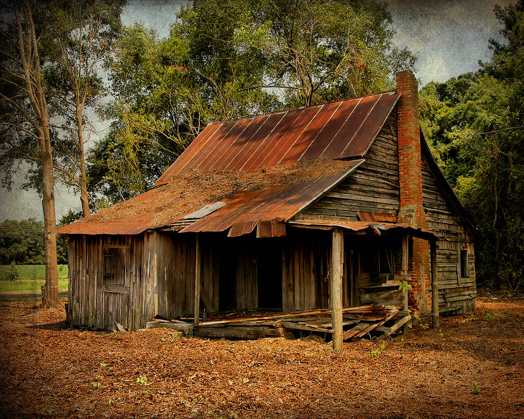 Exposed Cracker Appling County Ga This Old House Was