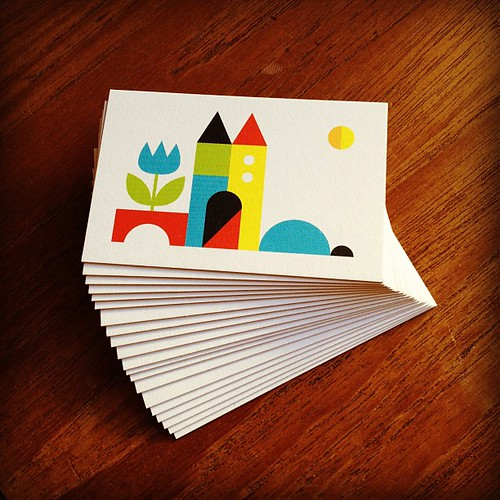 New Lux Moo business cards! :) | by Made with love by Cecilie